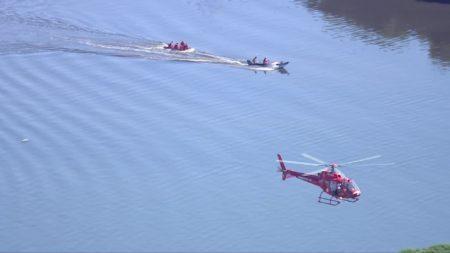 helicóptero caiu