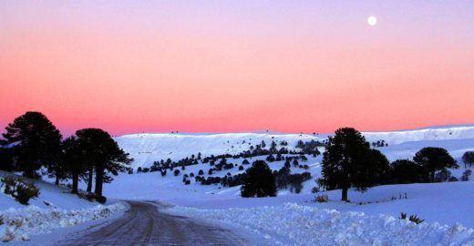 Neuquén, na Argentina, é pé na estrada em qualquer época do ano