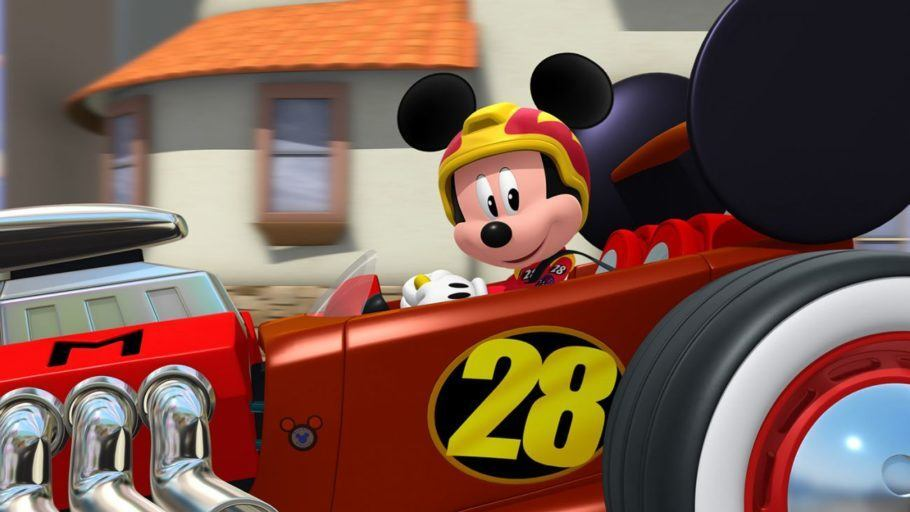 cena de Mickey and the Roadster Racers