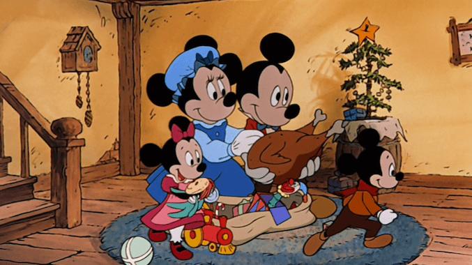 cena de Mickey's Christmas Carol