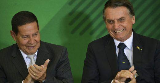 Globo: Vice de Bolsonaro caiu na malha fina da Receita Federal