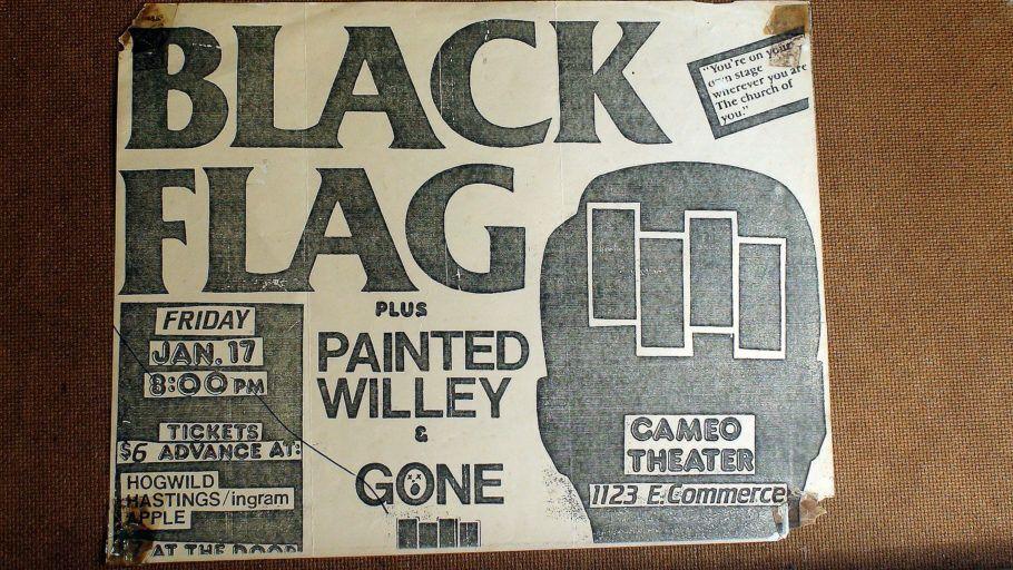 cartaz black flag