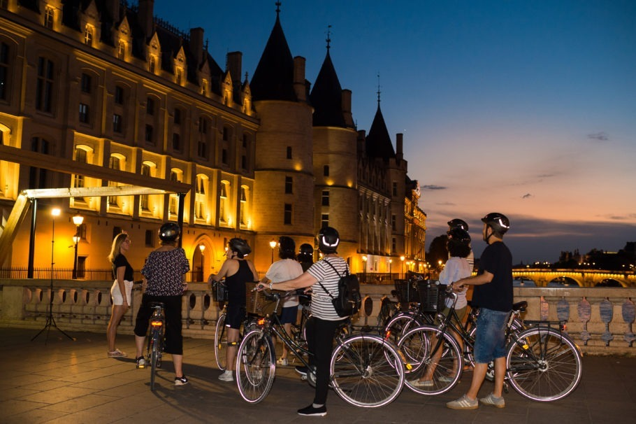 Passeio de bike Paris