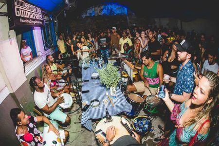 Samba dos Guimarães rola aos sábados no Mercado das Pulgas, em Santa Teresa