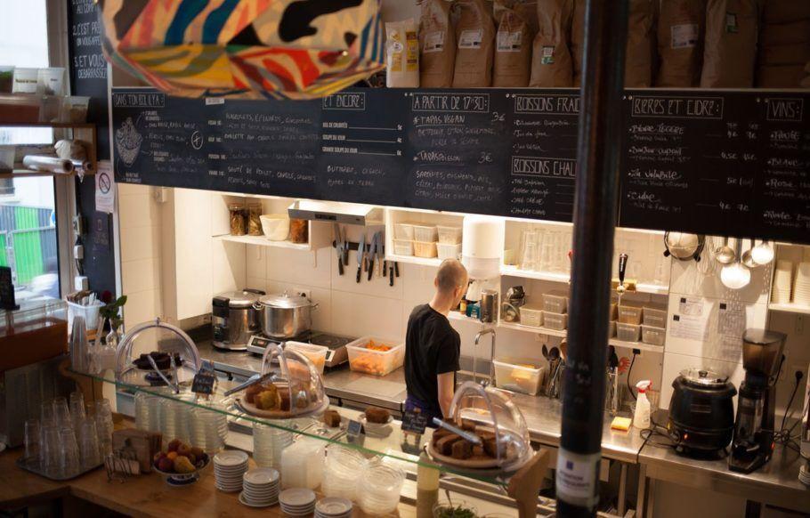 O Le Bichat é um dos dez estabelecimentos de Paris que já foram agraciados com o selo verde para restaurantes