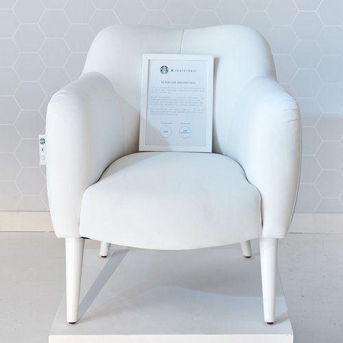 Cadeira será revestida com material feito de PET