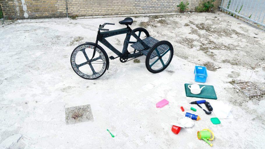 O projeto de triciclo de plástico reciclado é opção contra o tráfego pesado da Cidade do México