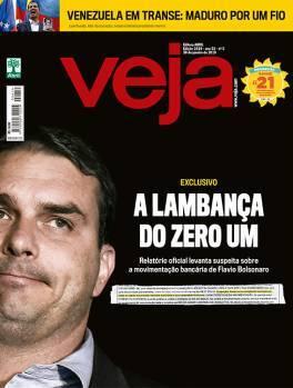 aprender Rechazado Abolido  Documento divulgado pela revista Veja detona Flávio Bolsonaro