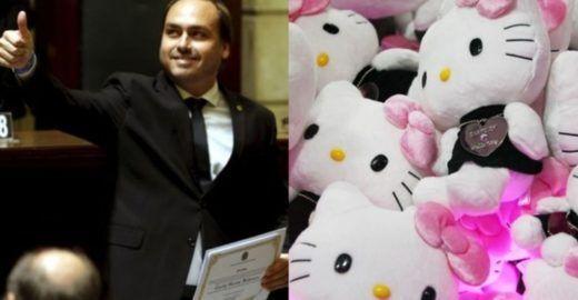 Globo explica por que apelidaram Carlos Bolsonaro de  Hello Kitty