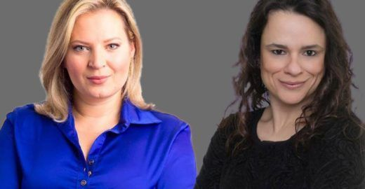 Joice Hasselmann e Janaina, lugar de mulher não é na política