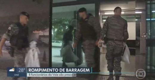 8 funcionários da Vale são presos em investigação de Brumadinho