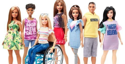 Mattel lança Barbies com deficiência no 60º aniversário da boneca