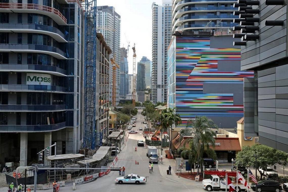 Brickell, bairro emergente em Miami