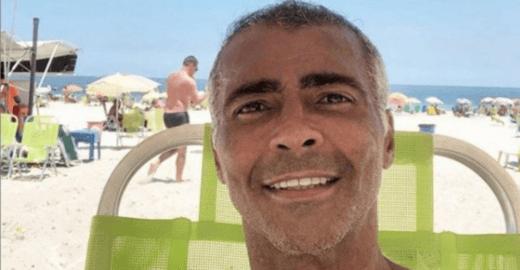 Tragédia do Flamengo faz Romário apanhar por foto na praia