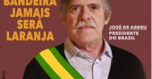 Zé Abreu viraliza deboche a Bolsonaro e enfurece Alexandre Frota