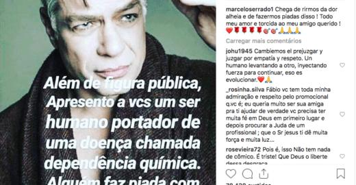 Atores da Globo se revoltam contra deboche a Fábio Assunção