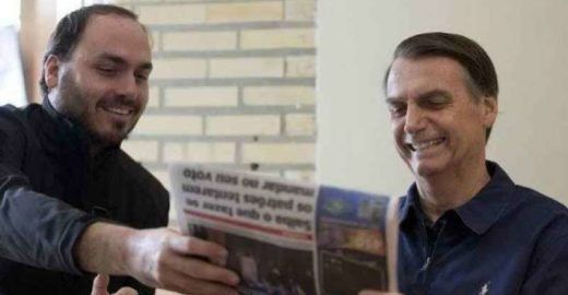 Época: A repulsa dos filhos de Bolsonaro pela imprensa