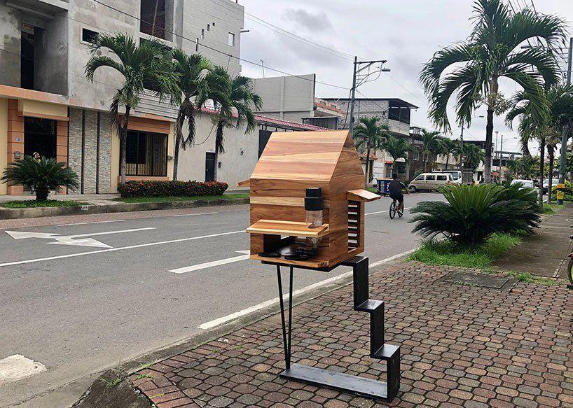 A casa para animais de rua foi projetada por um escritório de arquitetura do Equador