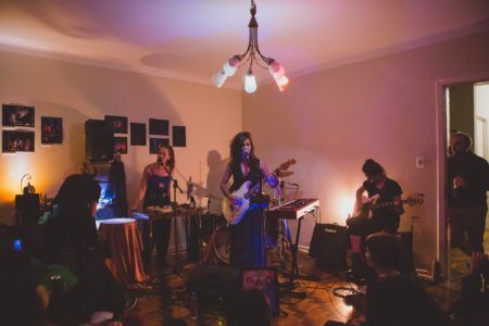 show da banda papisa na casa vulva