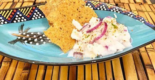Ceviche vegano com coco verde: veja como fazer