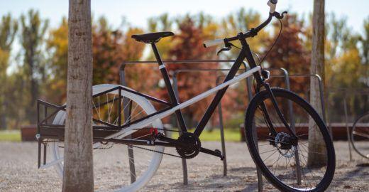 Bicicleta dobrável 'cresce' para levar até 60 kg de carga
