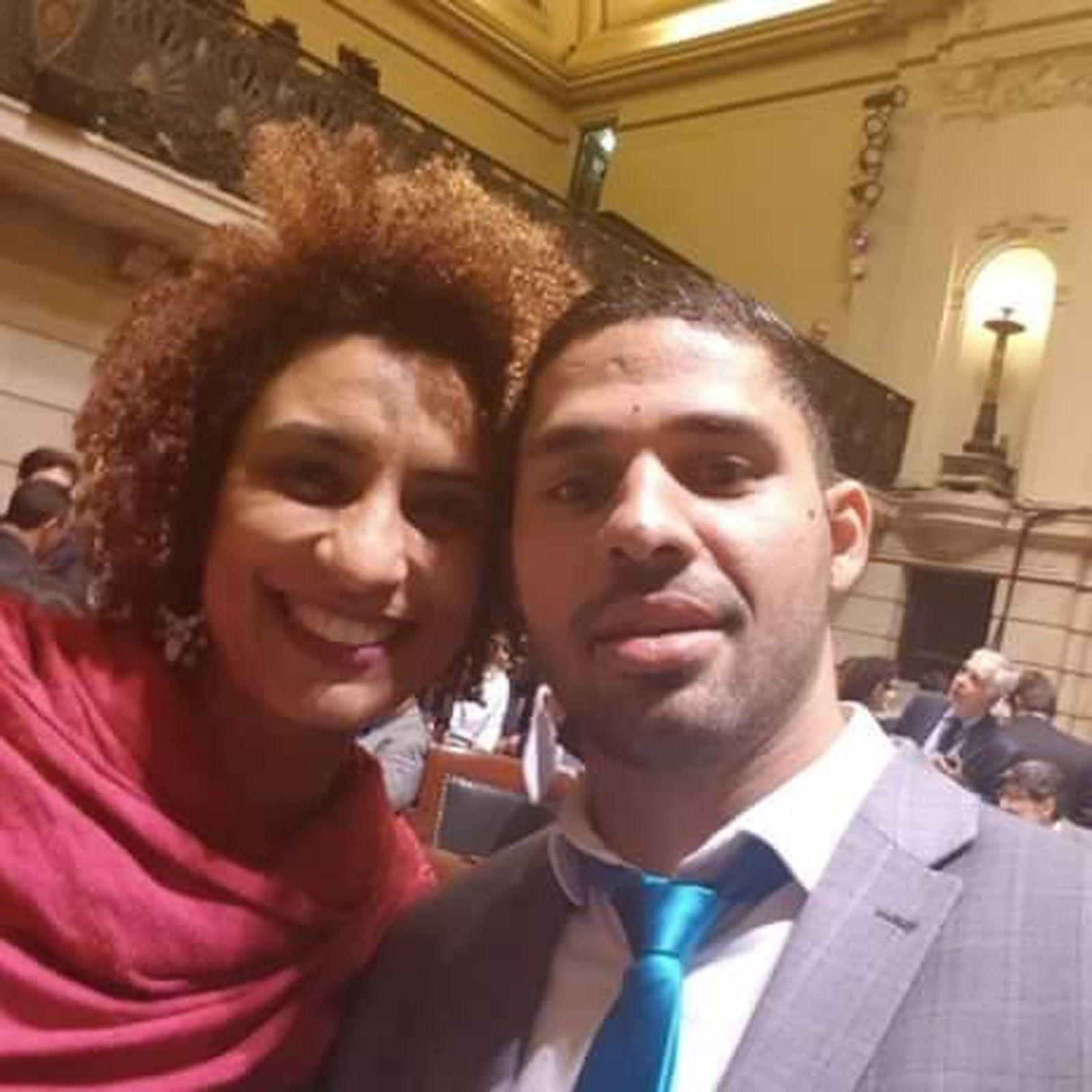 Marielle Franco e David Miranda