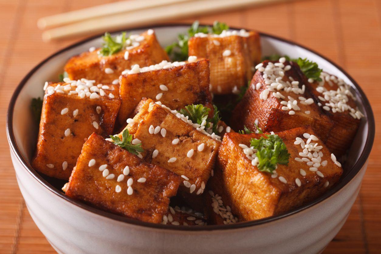 gergelim com tofu