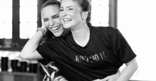 Ivete e Claudia Leite dão show de sororidade na internet