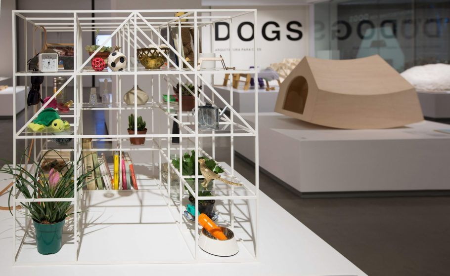 casa de cachorro da Exposição 'Architecture for Dogs: Arquitetura para cães' na Japan House
