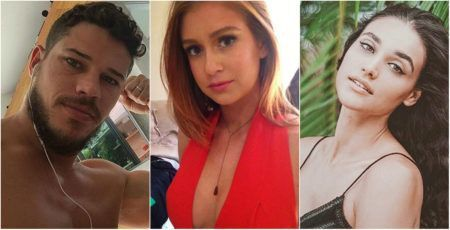 Resultado de imagem para Marina Ruy Barbosa, José Loreto e Débora Nascimento