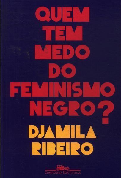 capa do livro quem tem medo do feminismo negro