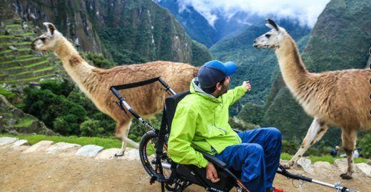 Agência cria roteiros para cadeirantes conhecerem Machu Picchu