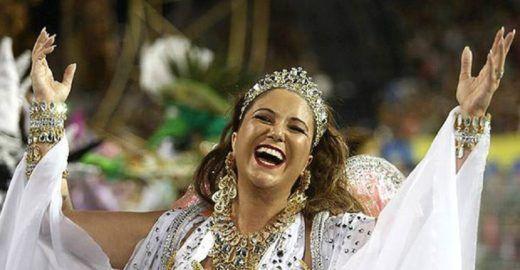Maria Rita comanda desfile do Bangalafumenga