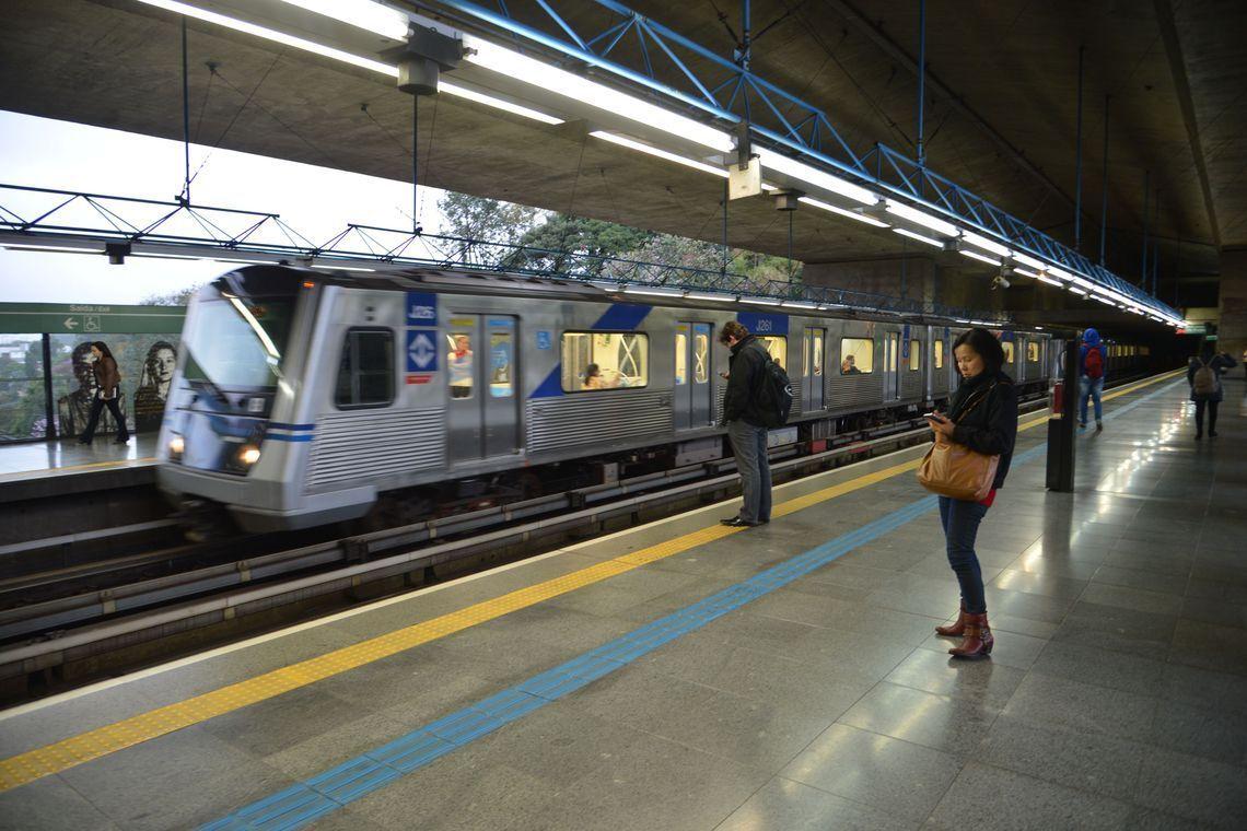 Estação Sumaré, na linha verde do metrô.
