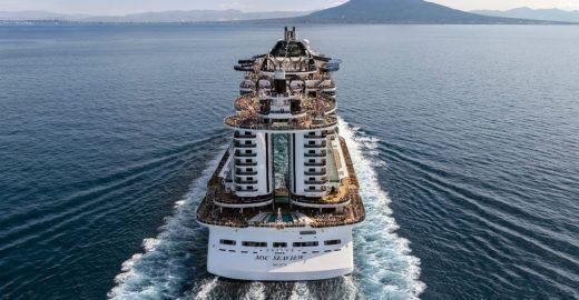 MSC manterá quatro navios no Brasil na temporada 2019-2020