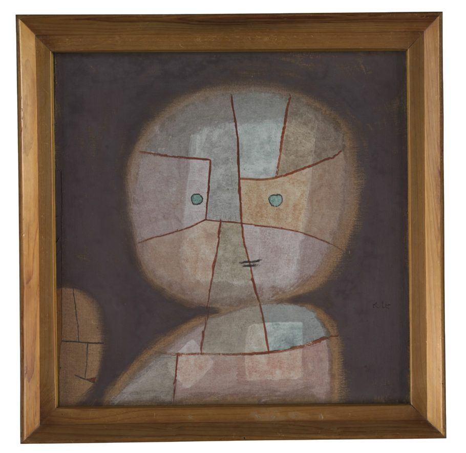 quadro Bueste eines Kindes 1933 de paul klee