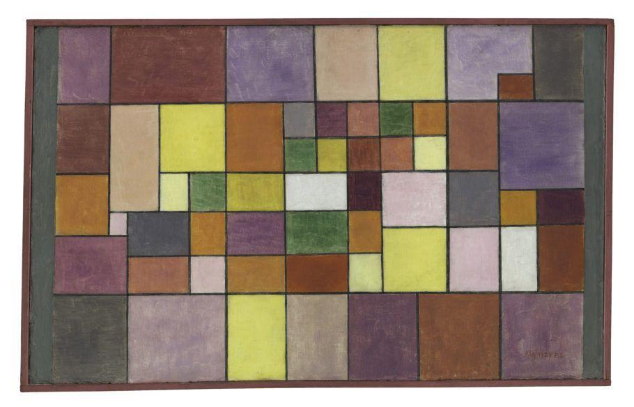 quadro harmonie der nordlichen flora 1927 de paul klee