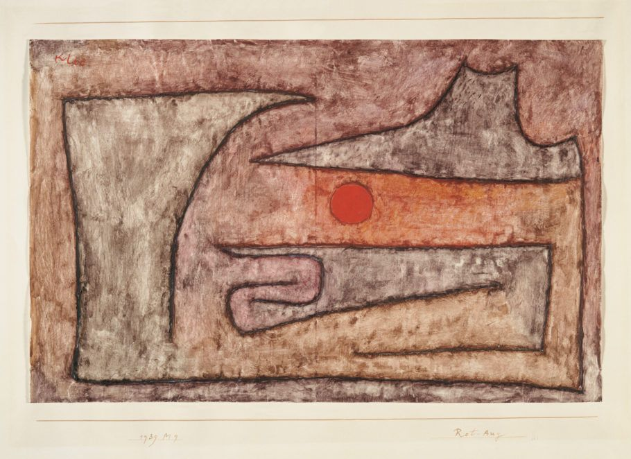 quadro rot aug 1939 de paul klee