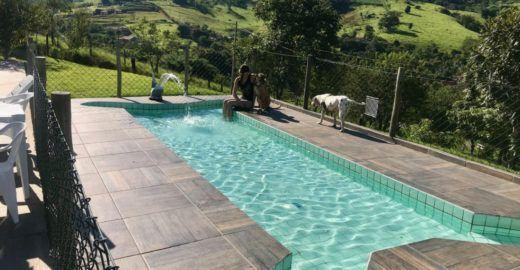 Pousada 'pet friendly' em Socorro (SP) tem piscina para cachorros