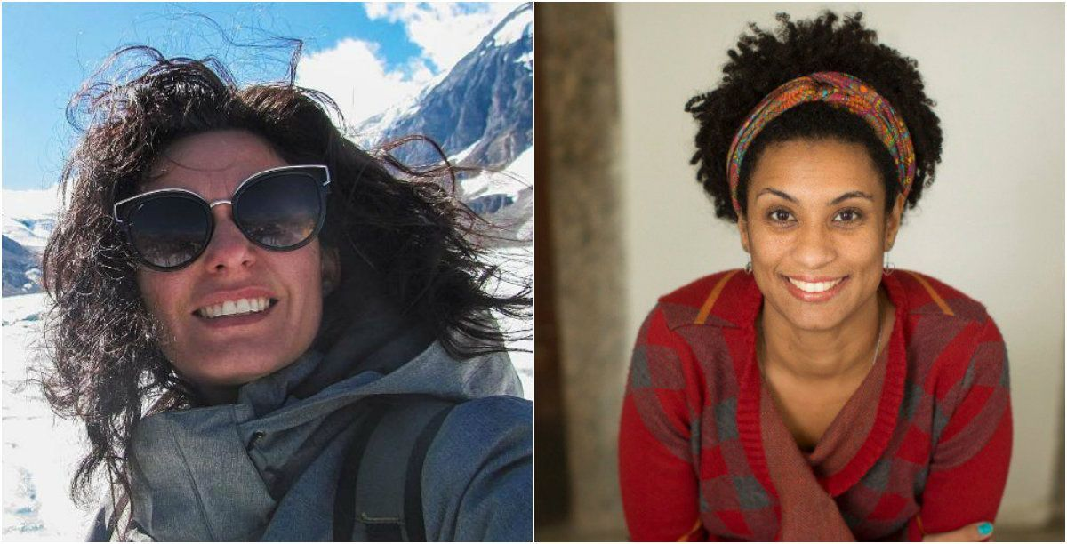 5d148f1ae Sabrina Bittencourt cita Marielle Franco antes de morrer