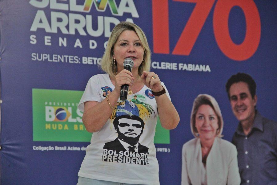 A senadora e ex-juíza Selma Arruda (PSL-MT)
