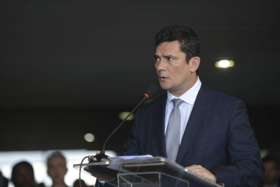 O ministro da Justiça e Segurança Pública, Sérgio Moro, apresenta seu pacote de mudanças.