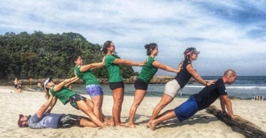 Treino Gaia resgata os movimentos naturais do corpo