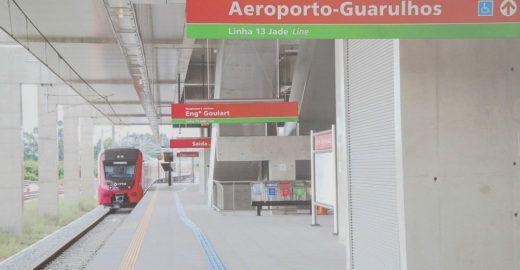 'Gambiarra' deve ligar estação de trem ao aeroporto de Guarulhos