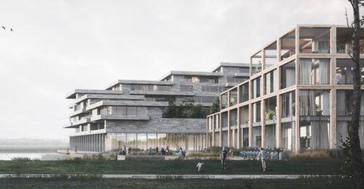 Arquitetos projetam vila ecológica para 830 pessoas