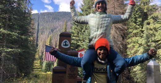 Casal brasileiro anda 4.351 km pelas montanhas do oeste dos EUA