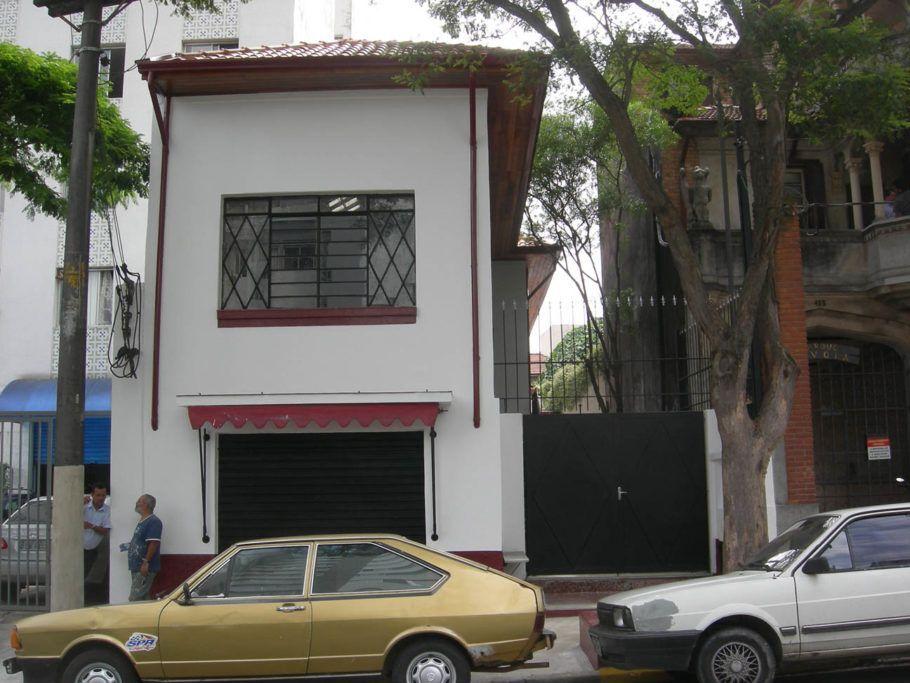 fachada da Associação Cultural Cecília