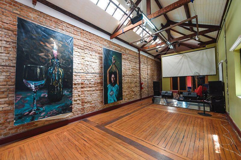 Salão da Associação Cultural Cecília