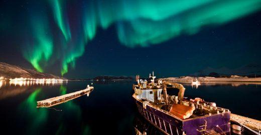 5 destinos pelo mundo para ver a aurora boreal