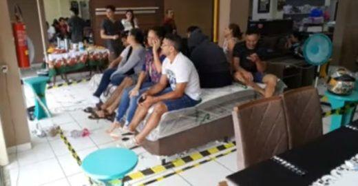 BBB de Rondônia confina clientes e tem prova de resistência